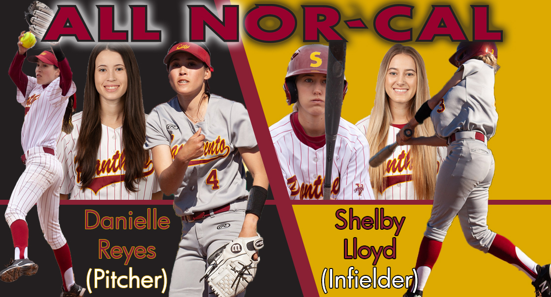 Reyes (pitcher) and Lloyd (utility) are named to the All-Nor Cal team