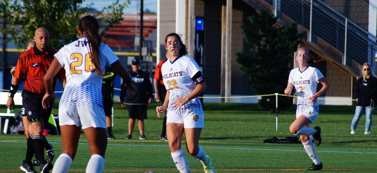 Cairrao's Hat Trick Leads Women's Soccer to 6-1 Win Over Beacons
