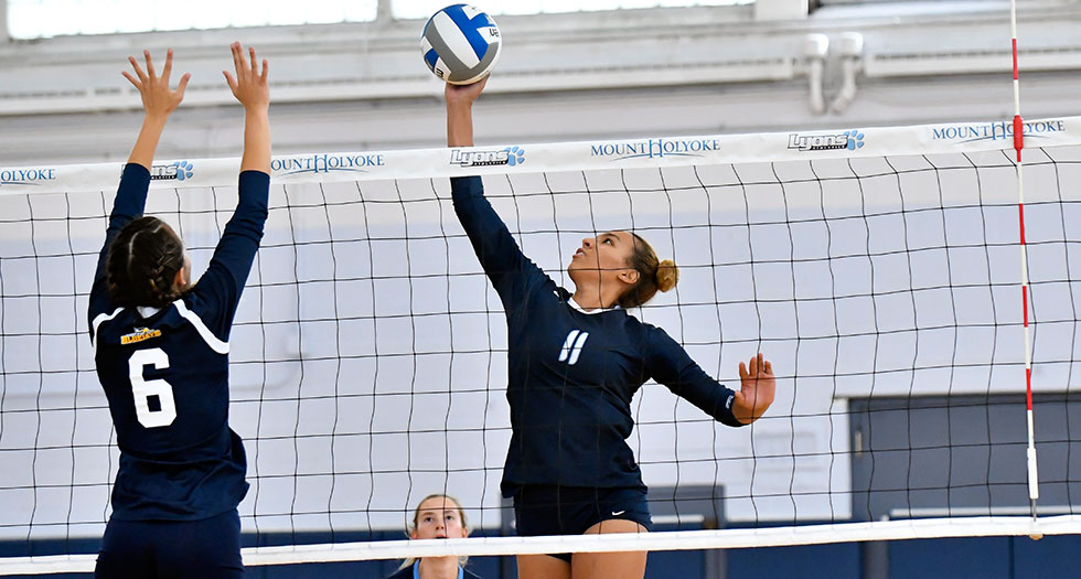 Volleyball Rallies Past MCLA for 3-1 Victory