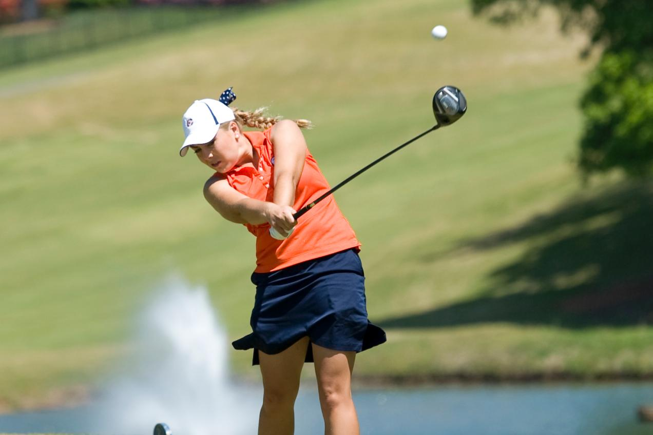 Oliver fifth; Lady Eagles in fourth after 36 holes at SAC Championships