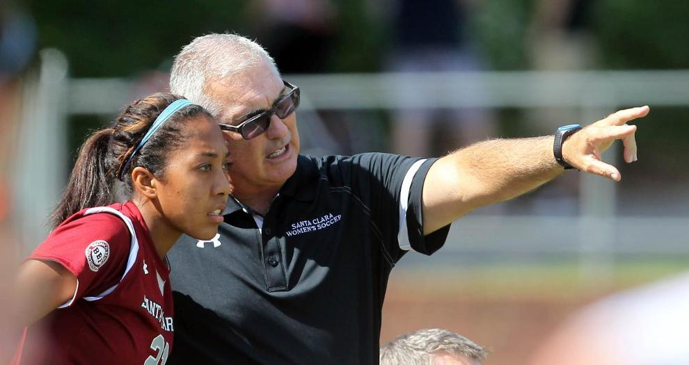 Bronco Women's Soccer Head Coach Jerry Smith Wins 400th Game at Santa Clara