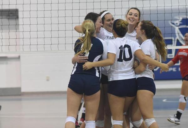 Cape Fear's Women's Volleyball Picks Up Two Conference Road Wins