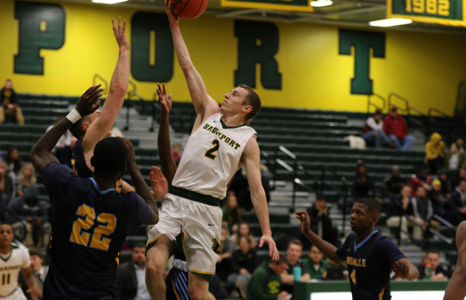 Brockport's Collins tabbed as Men's Basketball Athlete of the Week