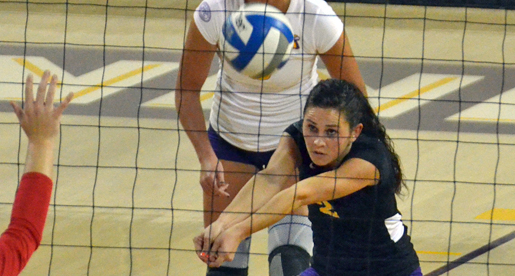 Golden Eagle volleyball drops 3-0 OVC match to TSU
