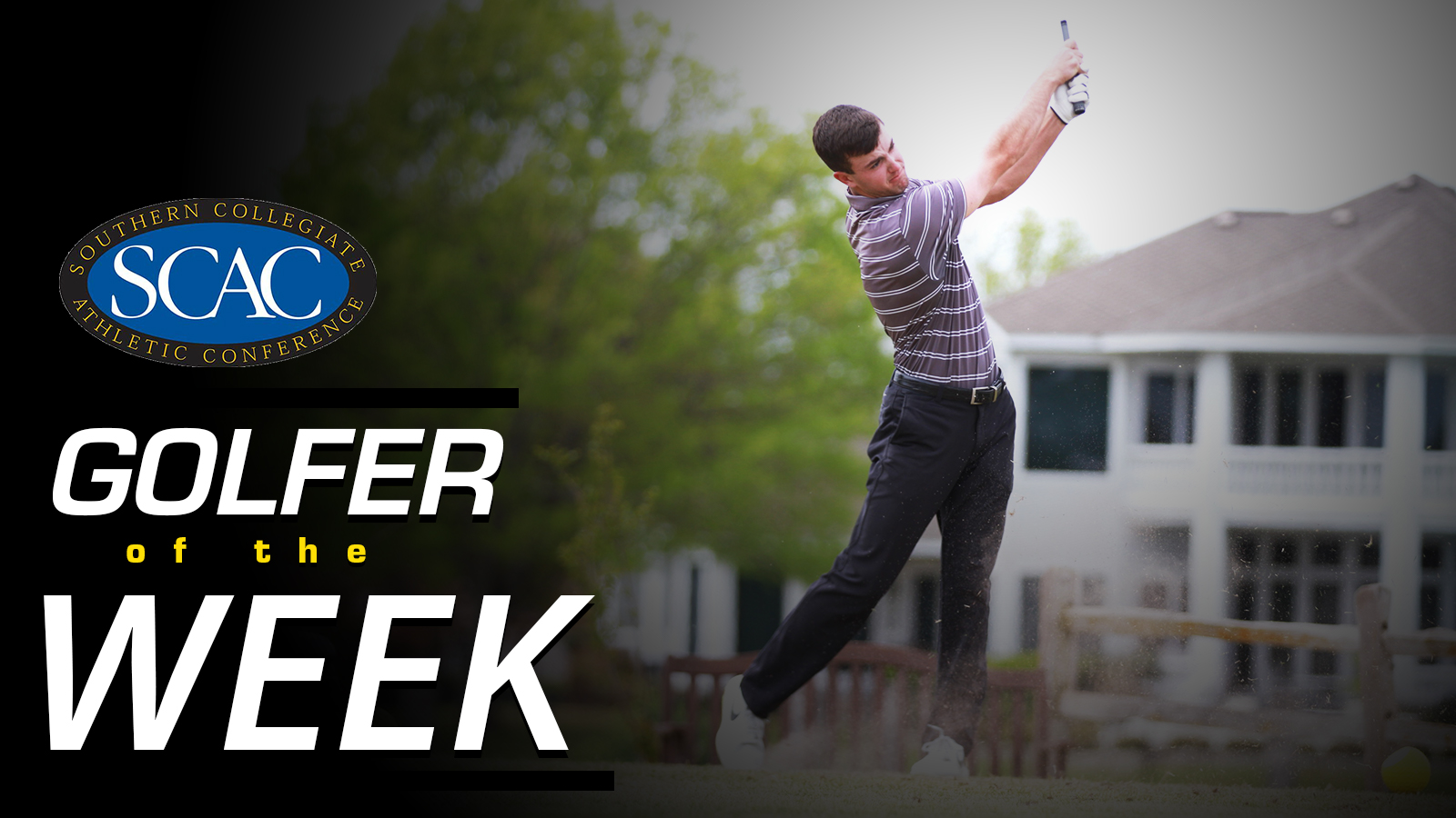 Osgood Wins Third SCAC Golfer of the Week Award