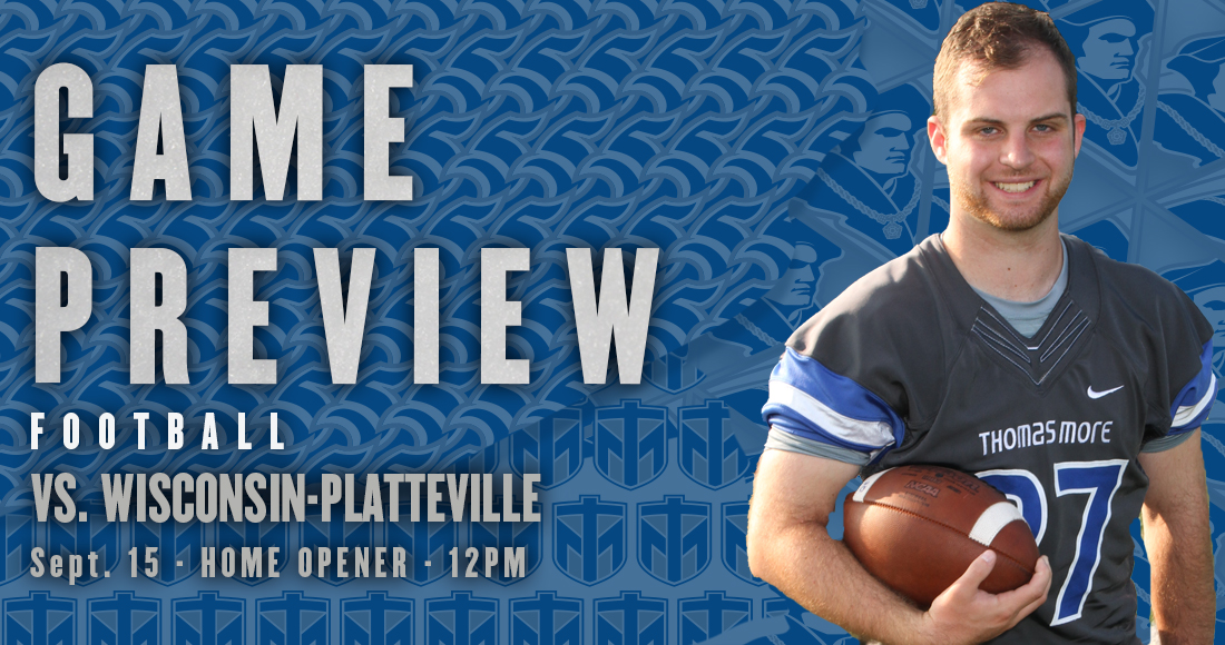 Thomas More Football Hosts No. 16 Wisconsin-Platteville on Saturday