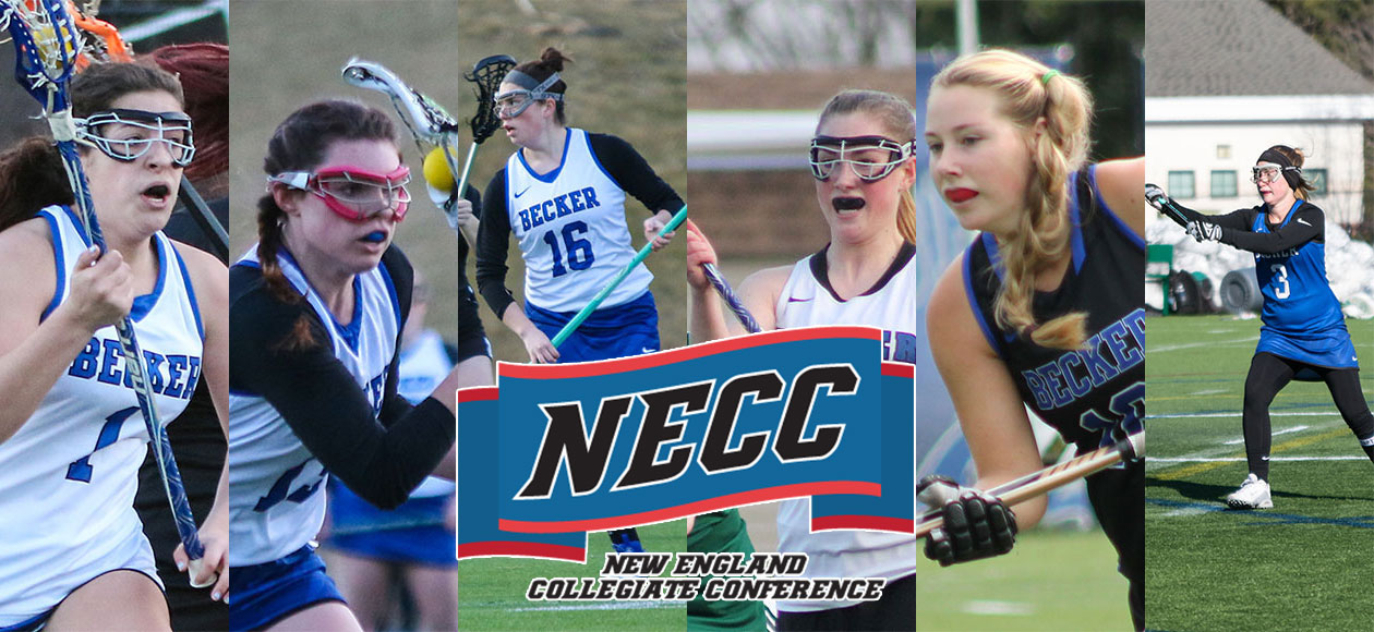 Becker places six on Women's Lacrosse All-NECC Teams