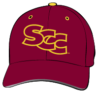Sacramento City College Panthers Hat with Logo