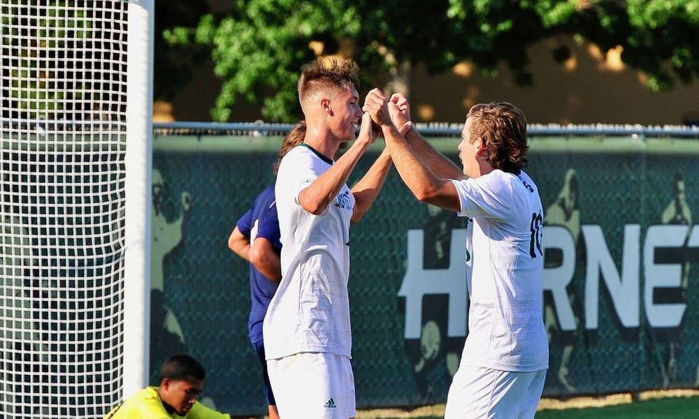 MENS SOCCER PLAYS TO A 2-2 DRAW IN SECOND EXHIBITION AT SANTA CLARA
