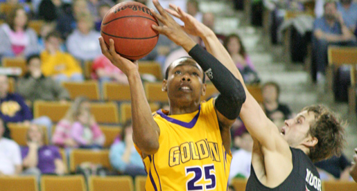 Golden Eagles slip past Gardner-Webb, 60-58, in final minute