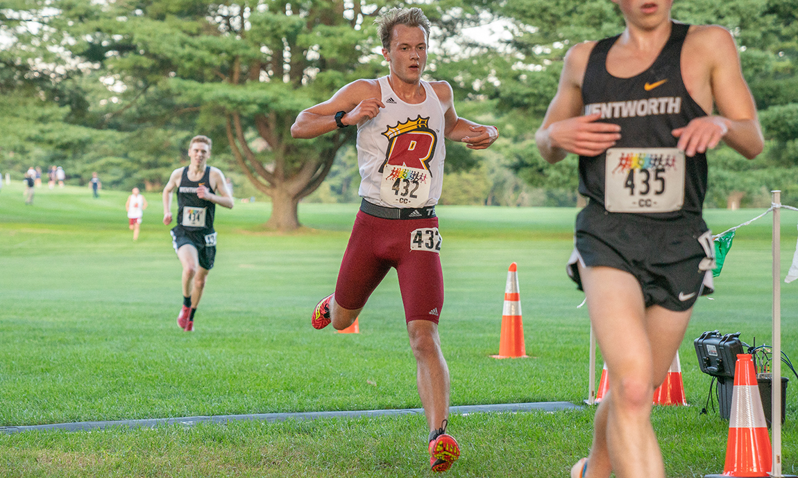 Regis Men's Cross Country Uses Teamwork for Solid Result