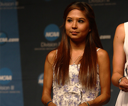 Moreno Nominated for NCAA Woman of the Year