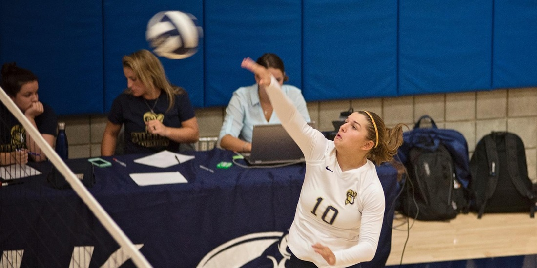 Kerek's Career Day Not Enough as Volleyball Falls in Three to Framingham State