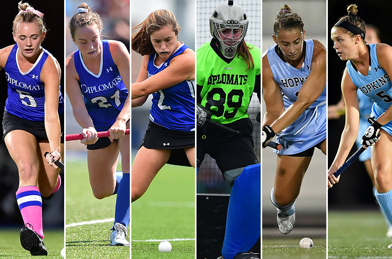 F&M's Gula, Mynott Named NFHCA First Team All-America; Six Honored