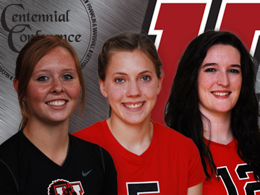 Three Fords earn all-conference volleyball honors