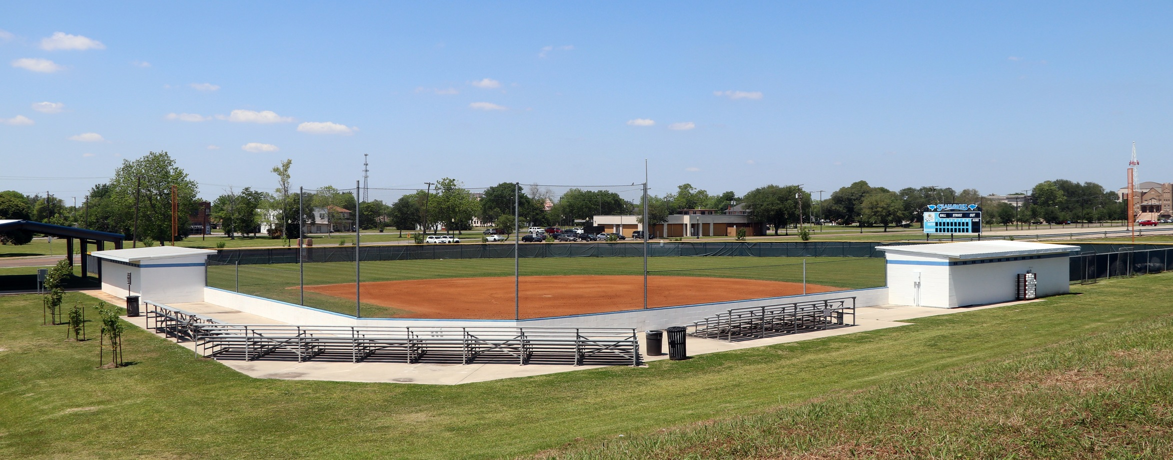 Martin Field is the home of the Lamar State College Port Arthur Seahawks softball team.