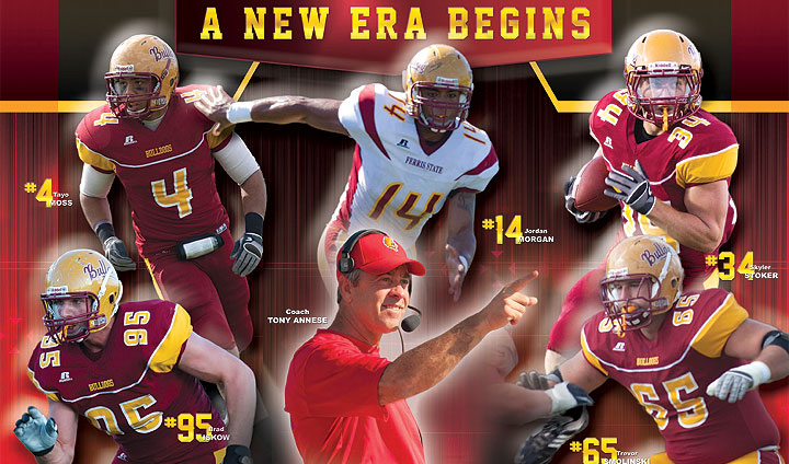 2012 Ferris State Football Yearbook