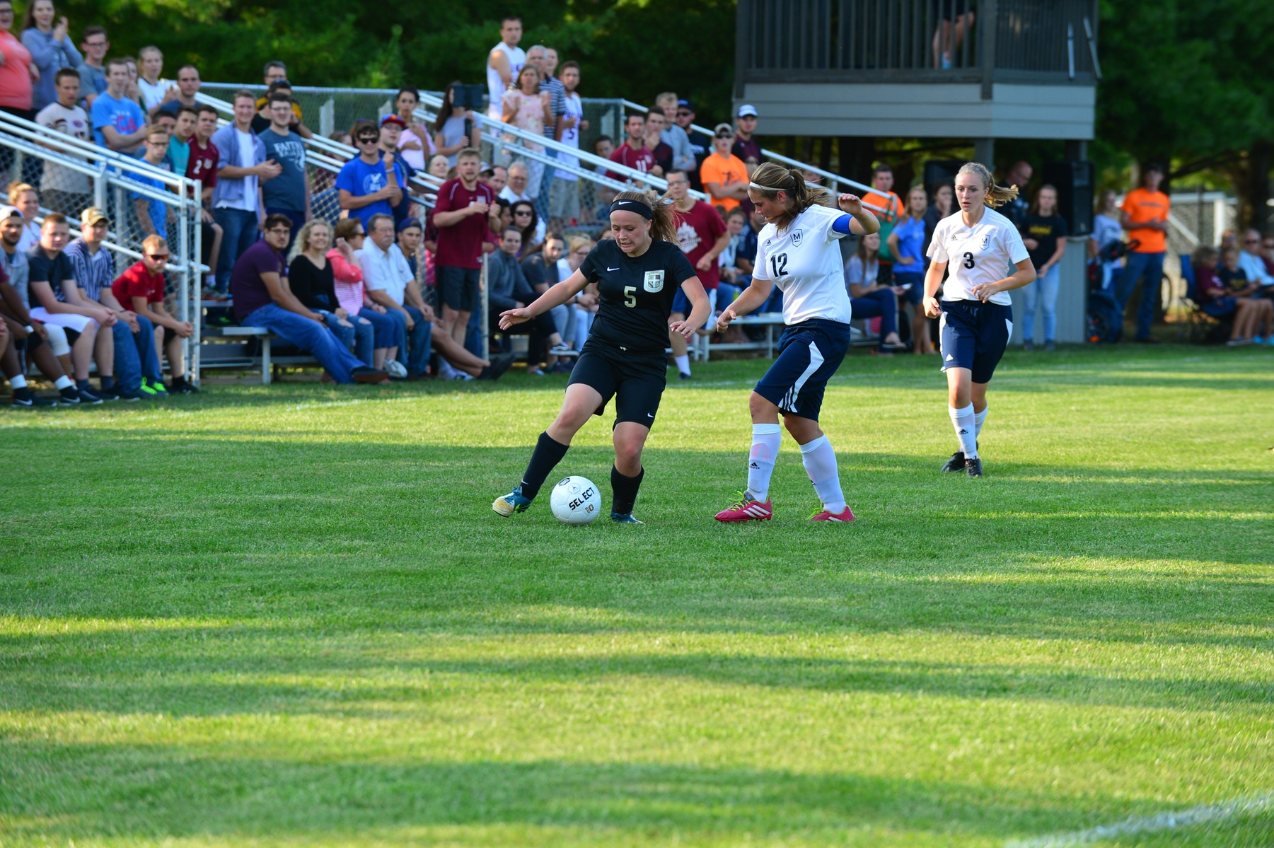 Eagles Look Strong in Opening Game