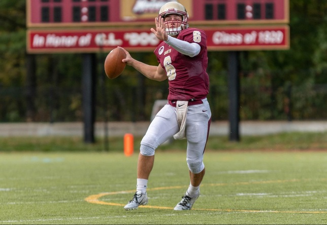Football: Five Different Cadets Score in NEWMAC Win over Mariners