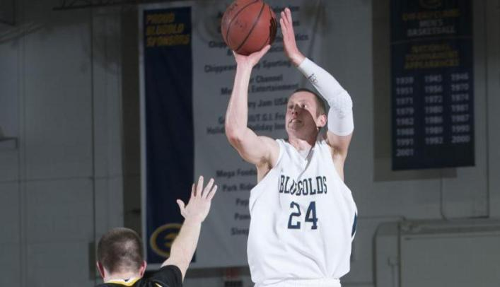 Men's Basketball Drops Home Contest to UW-Stout