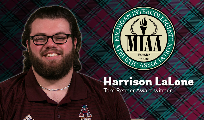 Alma captures Renner Award for fourth straight year