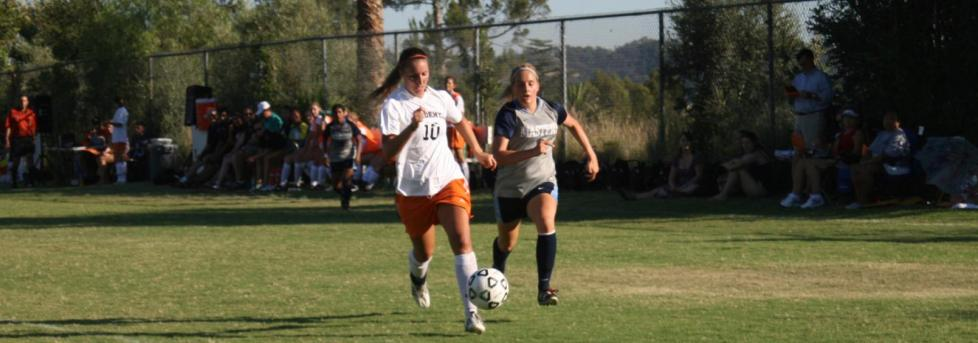 Women's soccer team overmatched in opener