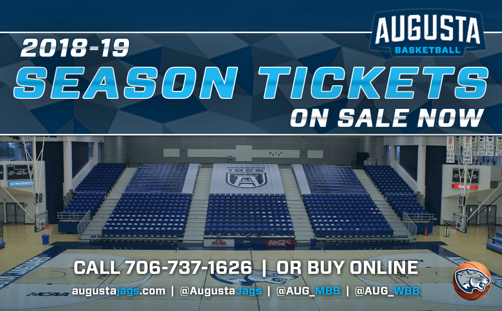 Augusta Basketball Season Tickets & Reserved Seats Now On Sale For 2018-19 Season