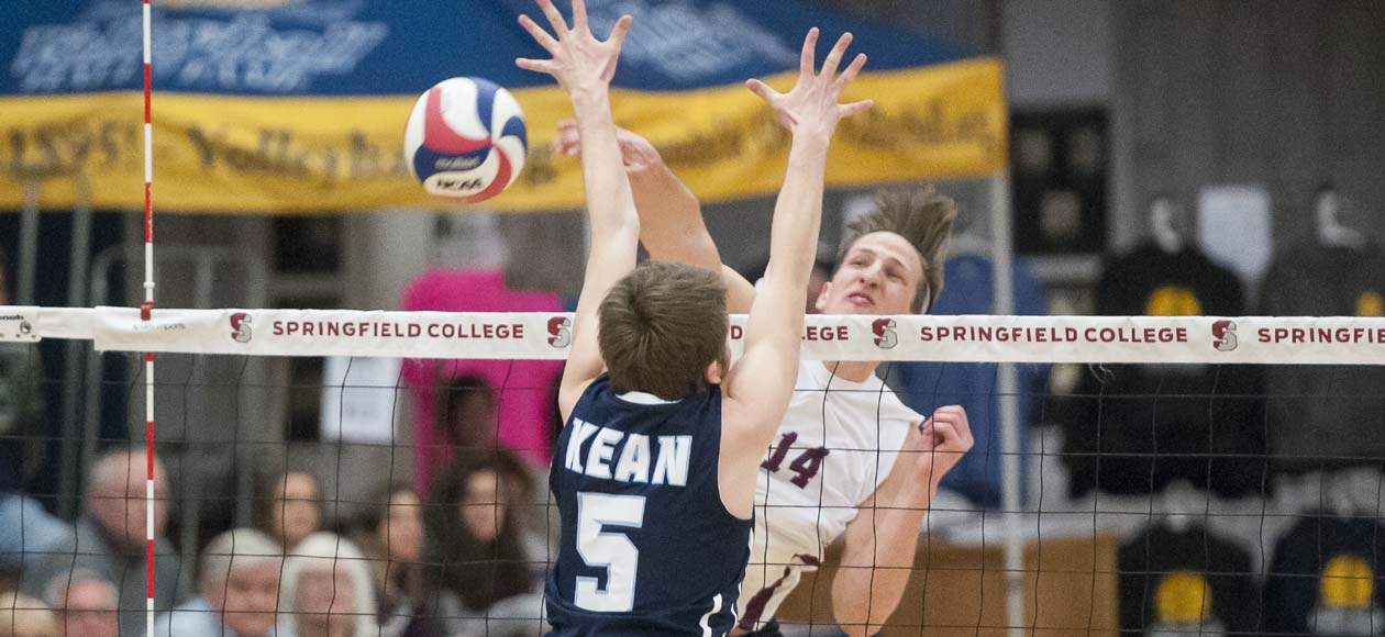 Men's Volleyball Heads Into Spring Break With Four-Set Win Over Marymount