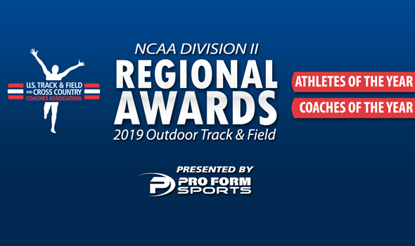 Four Conference Carolinas Individuals Earn Major Regional Outdoor Track and Field Awards from USTFCCCA