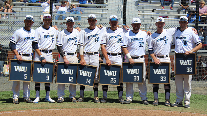 Baseball Earns Senior Day Split with Eastern Mennonite