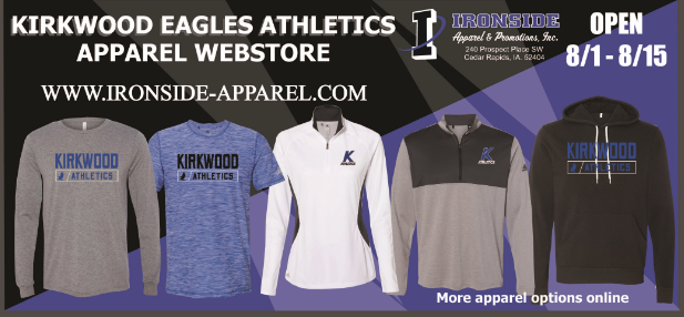 All Kirkwood Athletics Apparel Online Stores are Closed