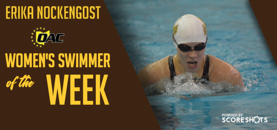 Nockengost Earns First Career OAC Women's Swimming and Diving Weekly Accolade