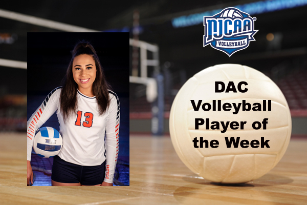 DAC Volleyball Player of the Week (Oct. 29)