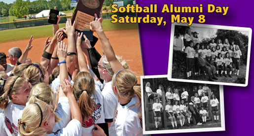Softball Alumni Day set for Saturday, May 8 vs. SEMO