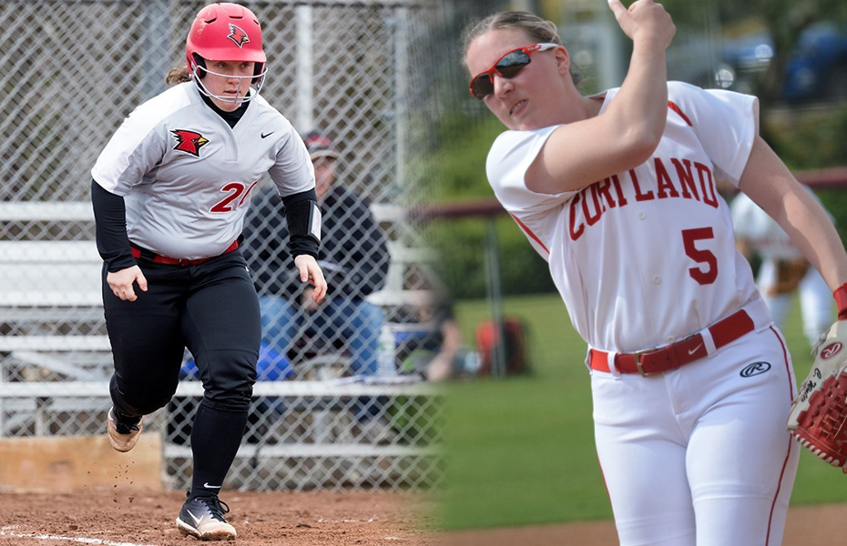 SUNYAC announces softball weekly honors