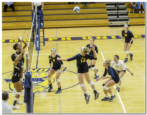 Mount women's volleyball program releases first showing of its 2015 schedule
