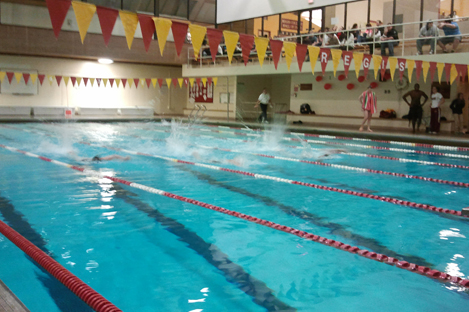 PRIDE HOSTS ANNUAL CRIMSON & GOLD INTRASQUAD MEET