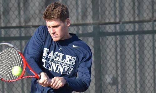#28 Men's Tennis Downs #27 Stevens, 6-3 on Saturday