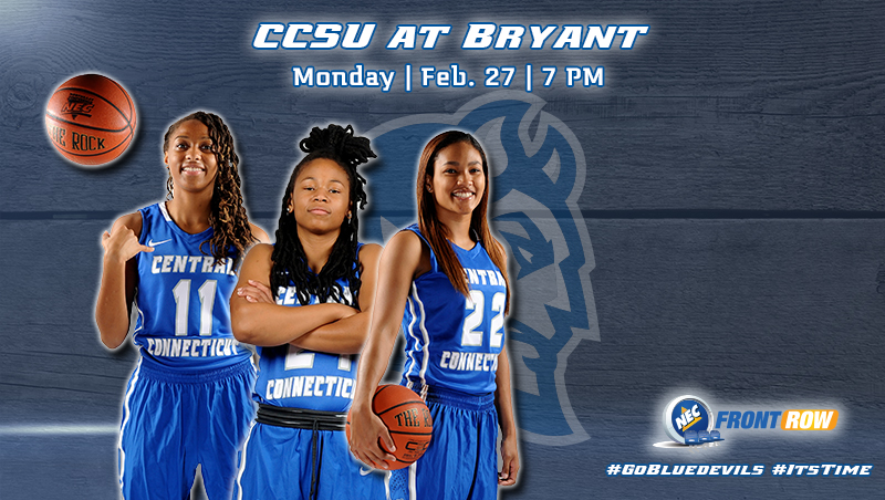 Women's Basketball Plays Final Regular Season Game At Bryant, Monday Night