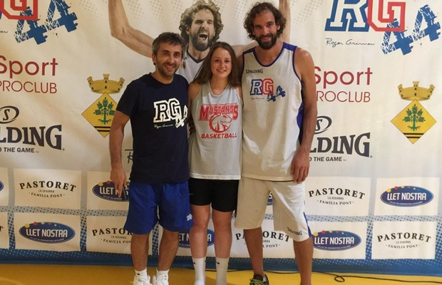 Women's Basketball:  Harrington coaches in Spain