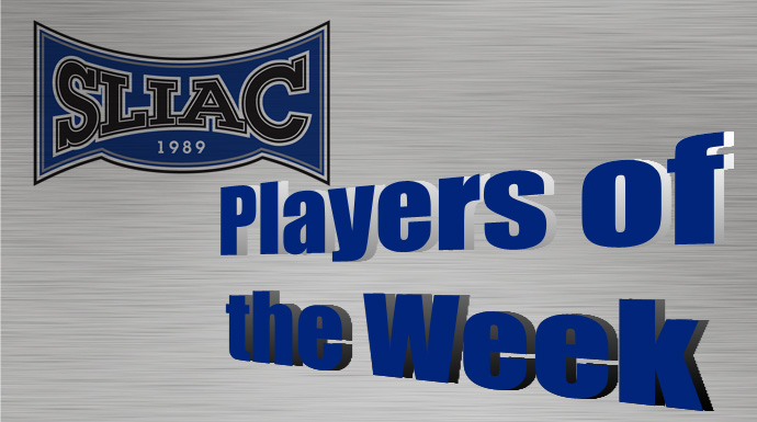SLIAC Players of the Week - Oct. 27