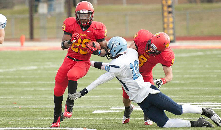 Football Closes 2012 Campaign On The Road At Northern Michigan
