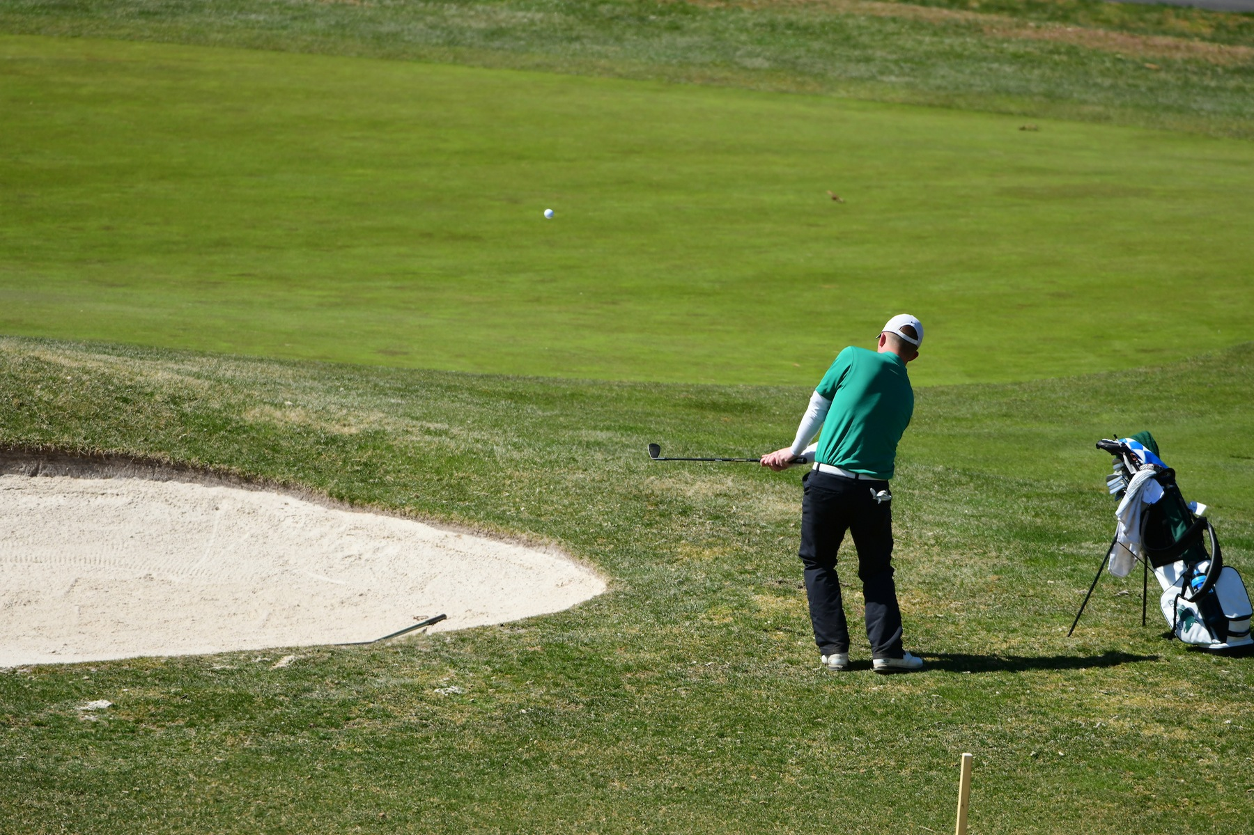 Mustangs Second, Maisel Tied for Second after Opening Round of MAC Commonwealth Championship