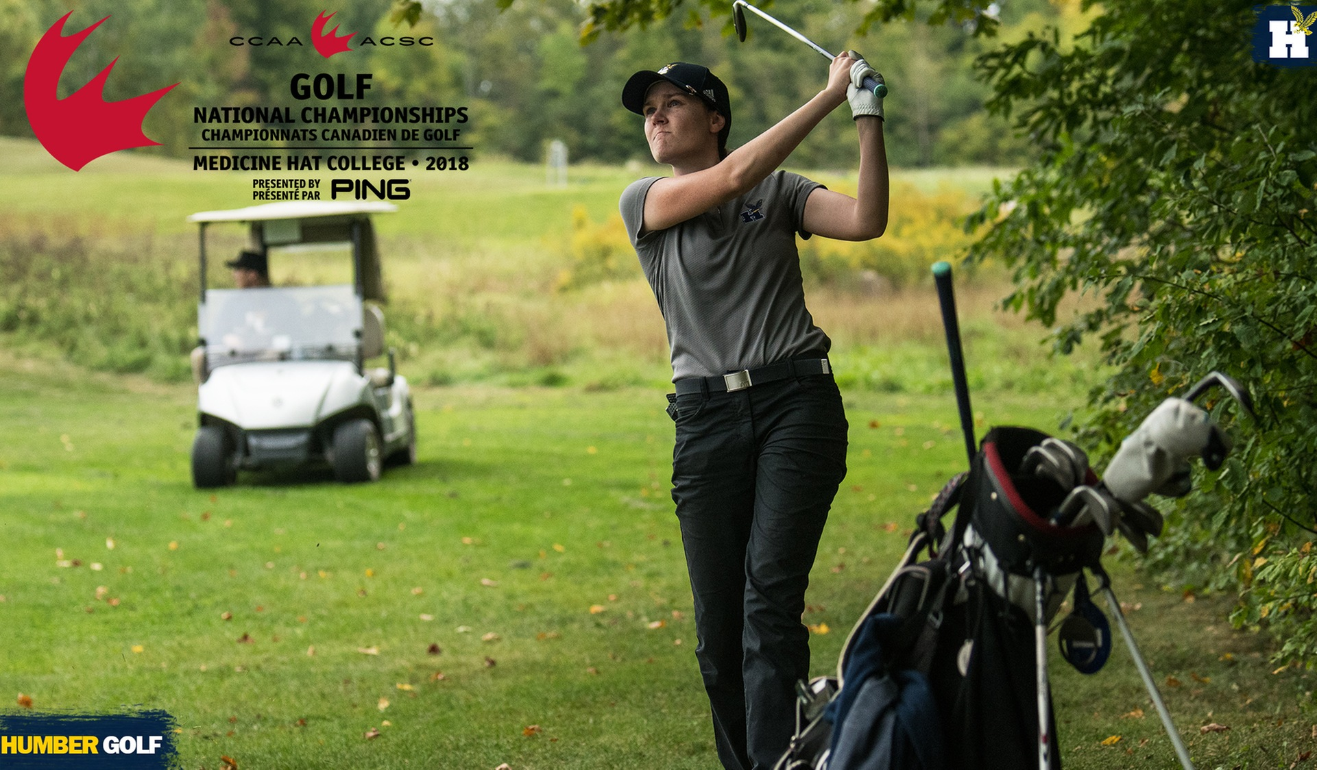No. 7 WOMEN'S GOLF TO TAKE ON THE CCAA AT THE CHAMPIONSHIP