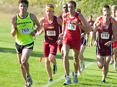 FSU Men's CC Third At Hillsdale Meet