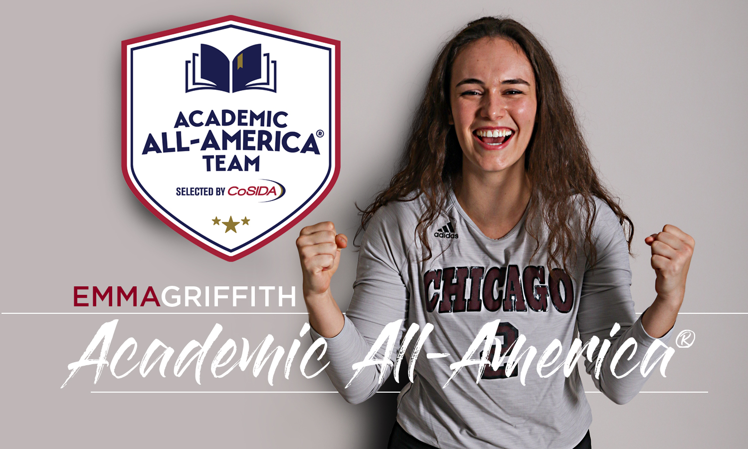 Griffith Makes History as First UChicago Volleyball Academic All-American