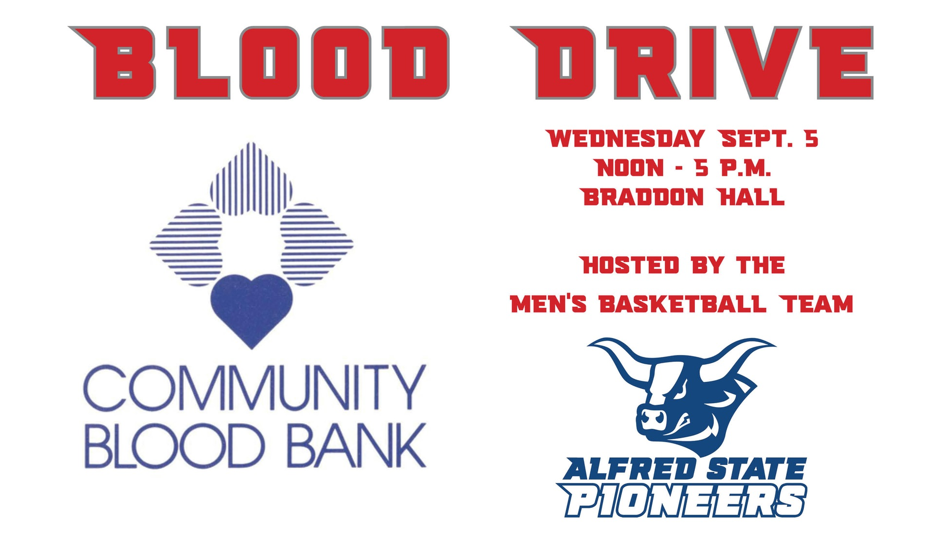 Men's Basketball to host blood drive
