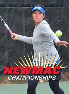 Blue Tennis Finishes Fall as NEWMAC Runner-Up