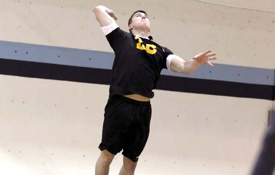 Emmanuel Rallies Past Men's Volleyball, 3-1