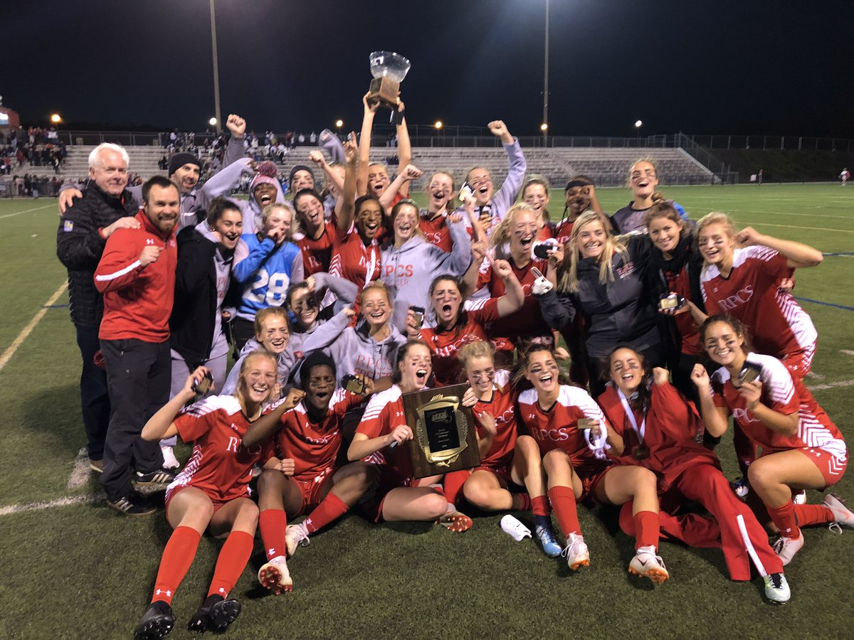 Roland Park Country School claims the B Conference Soccer Title